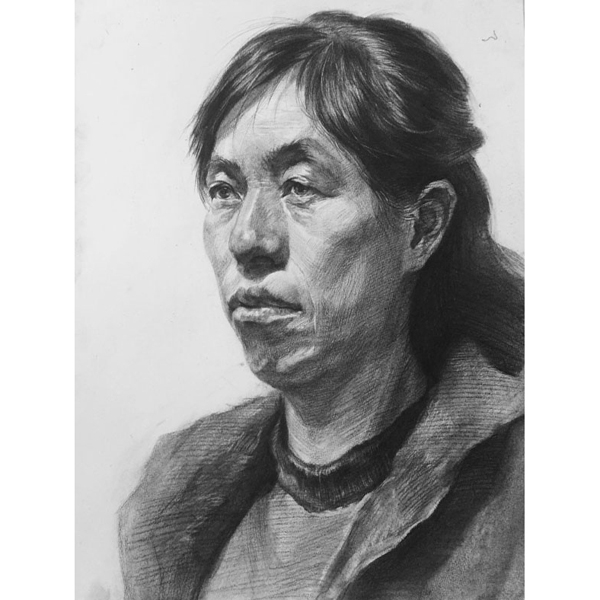 新疆画室学生作品